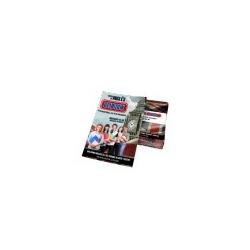 Folder Couchê 120g Sem Verniz 15x10 - 4x0 - 1000 UNID