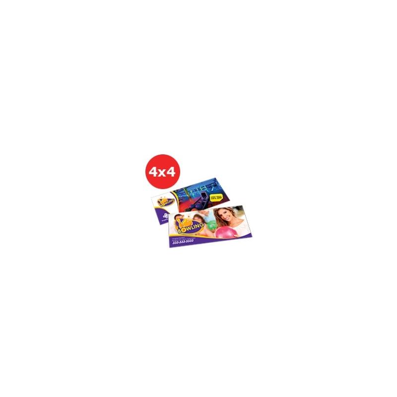 Folder Couchê 120g Sem Verniz 15x10 - 4x4 - 2500 UNID