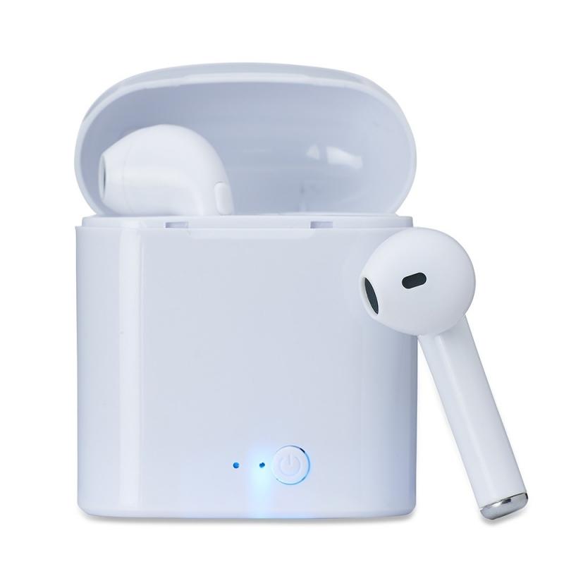 Fone de Ouvido Bluetooth  com Case Carregador - (11) 2506-0099