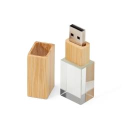 Pen Drive Cristal Bambu...